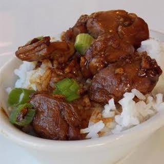 Hunan-Style Chicken.