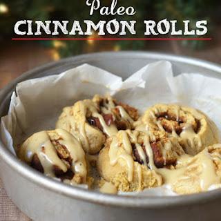 Paleo Cinnamon Rolls (Nut-free)