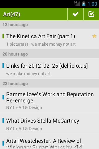 FeedMe (RSS Reader | Feedly) - screenshot