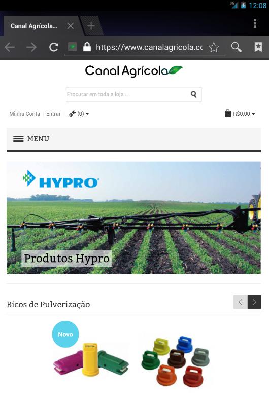 Canal Agrícola - Pulverização - screenshot