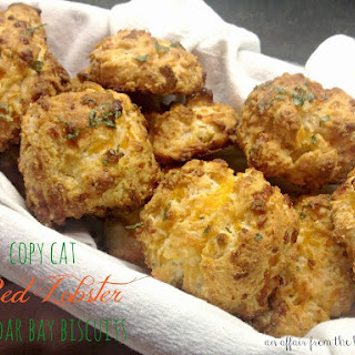 Copy Cat Red Lobster Cheddar Bay Biscuits.