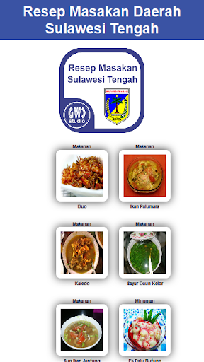 Resep Masakan Sulawesi Tengah