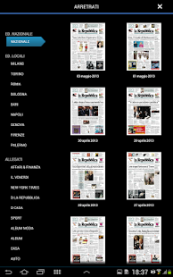 La Repubblica+ - screenshot thumbnail