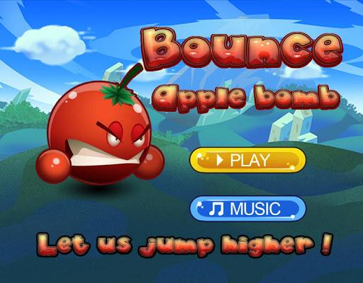 彈跳蘋果炸彈球