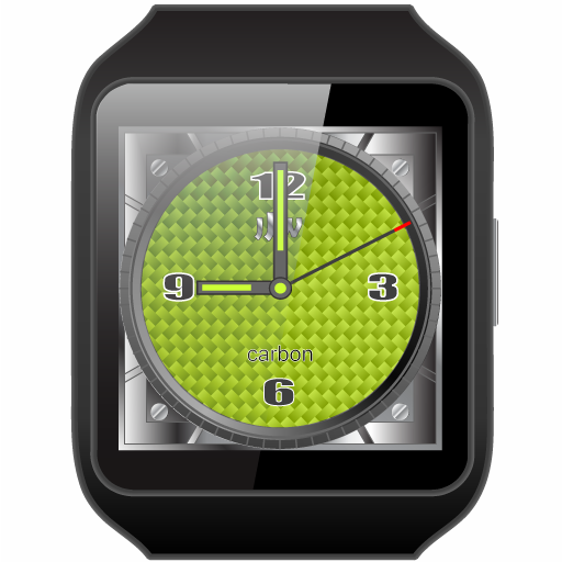 JJW Carbon Watchface Premium- screenshot