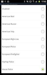 Police Lights Ringtone - screenshot thumbnail