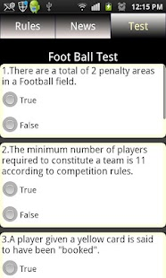 Sports Rules & News Free - screenshot thumbnail