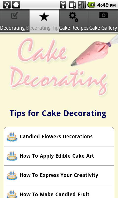 Cake Decorating Tips Numbers : Cake Decorating Tips - Android Apps on Google Play