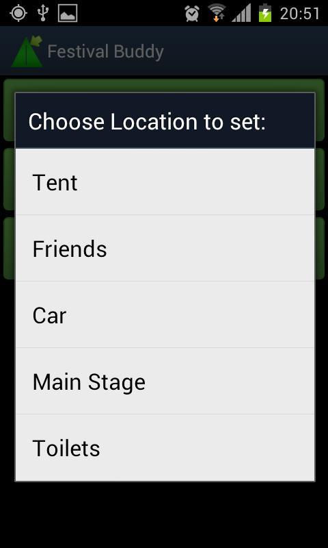 Festival Buddy- screenshot