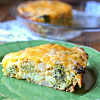 Impossible Broccoli Pie.