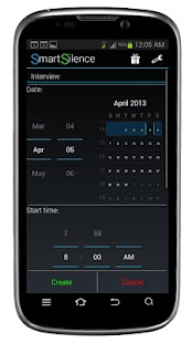 SmartSilence: Silent Scheduler- screenshot thumbnail
