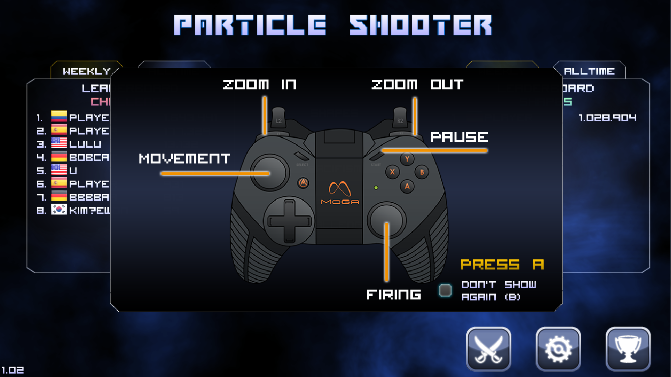 Particle Arcade Shooter - screenshot