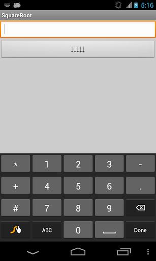 SquareRoot Calculator