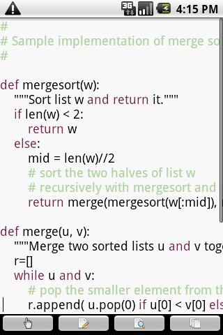 touchqode pro- screenshot