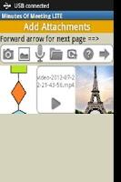 Screenshot of Minutes Of Meeting PRO