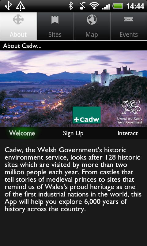 Cadw - screenshot