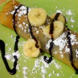 Eggless Crepes.