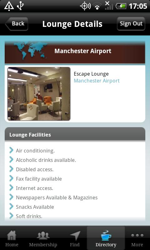 Airport Angel provided by CPP - screenshot
