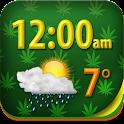 Weed Clock Weather Widget icon