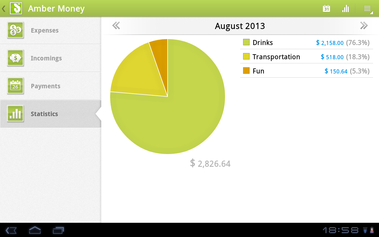 Amber money expense manager android apps on google play amber money expense manager screenshot hexwebz Choice Image