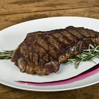 Argentinian Grilled Steak With Rosemary.