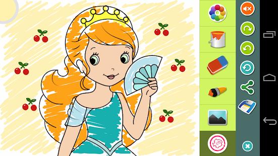 72 Princess Colouring Book Mod Apk Free