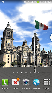 Mexico Flag livewallpaper free