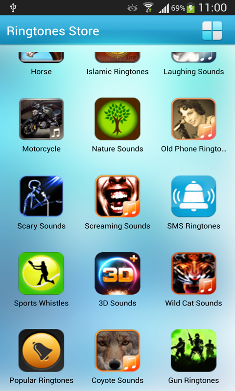 Free 54 Species Ringtones - screenshot