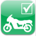 Teoriprøven til motorcykel logo