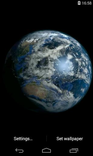 Earth Video Live Wallpaper