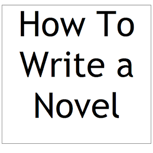 How to right a novel