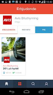 Klipster erbjudanden- screenshot thumbnail