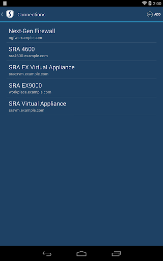 【免費商業App】SonicWALL Mobile Connect-APP點子
