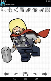 如何绘制Lego超级英雄