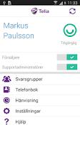 Screenshot of Telia Jobbmobil Växel