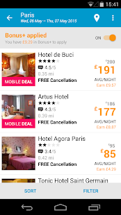ebookers: Hotel, Flights, Cars - screenshot thumbnail