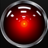 HAL 9000 Battery Widget