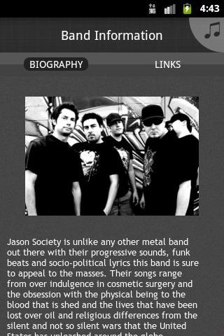 Jason Society - screenshot