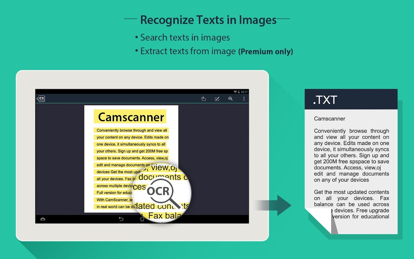 CamScanner (License)- screenshot