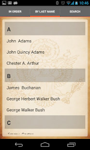 U.S. Presidents- screenshot thumbnail