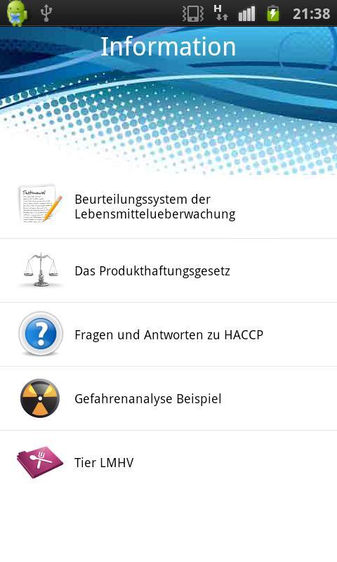 The complete HACCP APP- screenshot