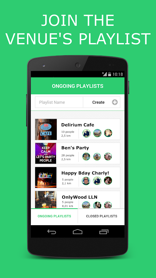 Jukup - collaborative jukebox- screenshot