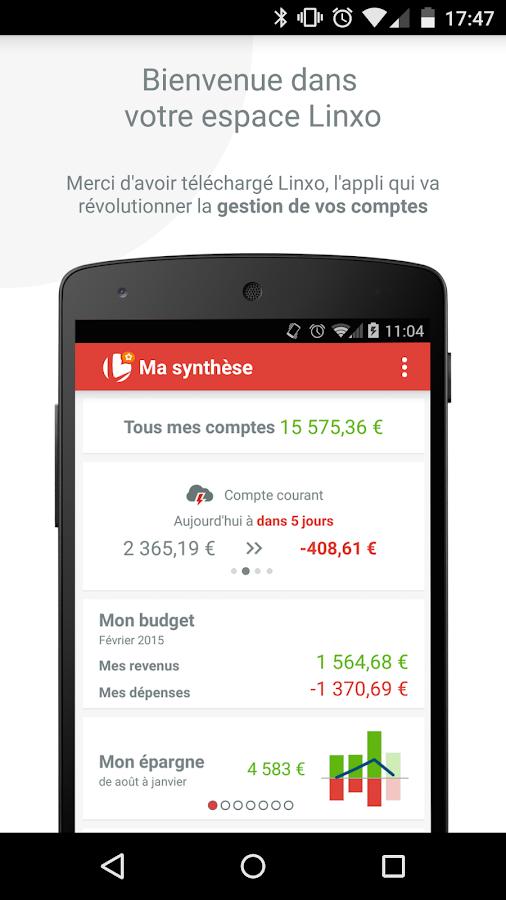 Linxo - mon budget, ma banque - screenshot