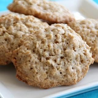 Flourless Caramel Oat Cookies.