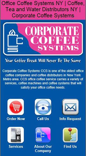 【免費商業App】Corporate Coffee Systems-APP點子