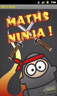 Maths Ninja ! - screenshot thumbnail