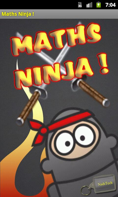 Maths Ninja ! - screenshot
