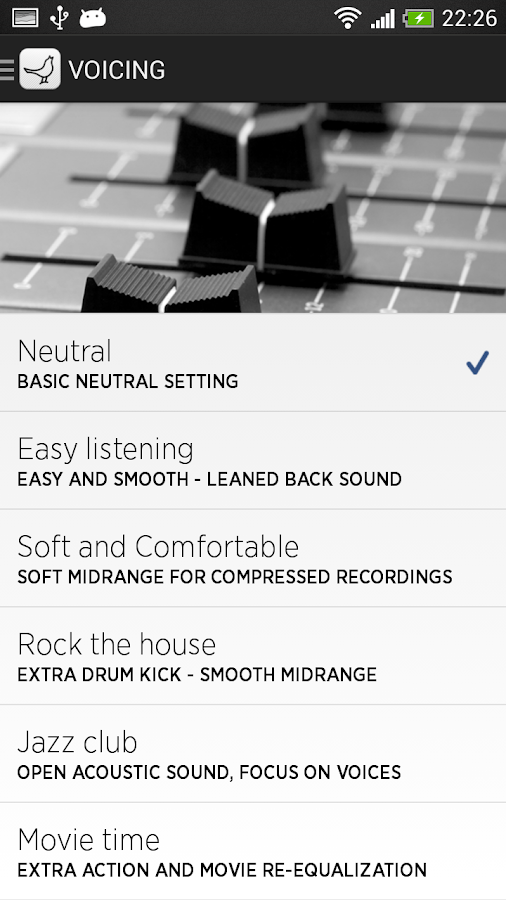 Libratone- screenshot