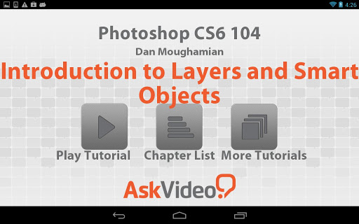 Photoshop CS6 Layers Objects