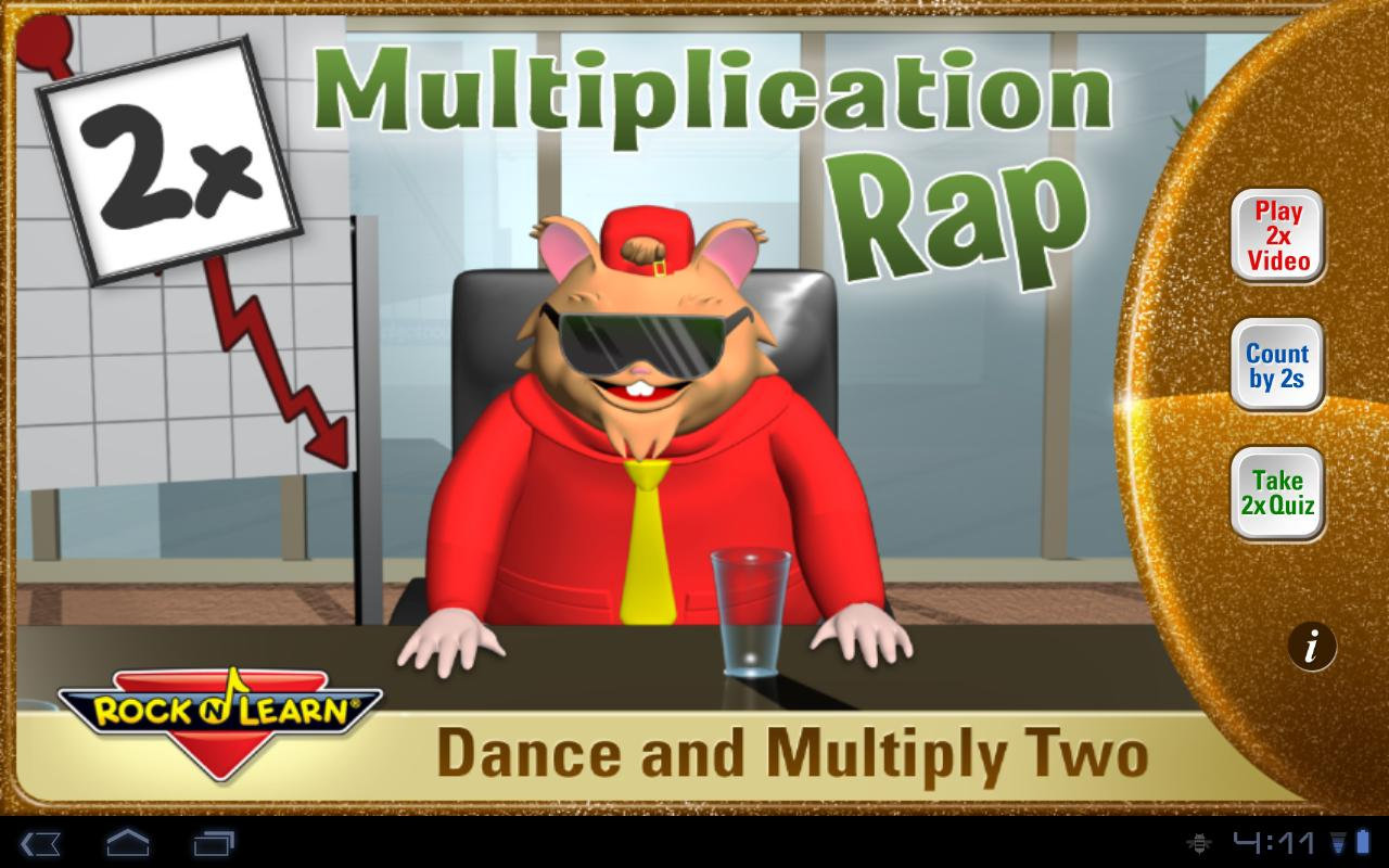 Multiplication Rap 2x HD- screenshot